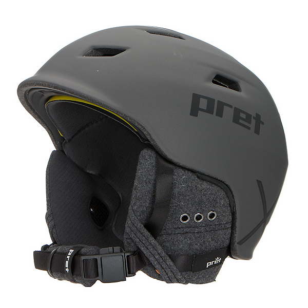 Pret Shaman X Helmet, Rubber Mercury, 600