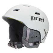 Pret Shaman X Helmet 2017, Rubber Pearl Chalk, medium