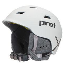 Pret Shaman X Helmet 2017, Rubber Pearl Chalk, 256