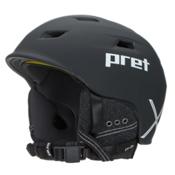 Pret Shaman X Helmet 2017, Rubber Team Black, medium