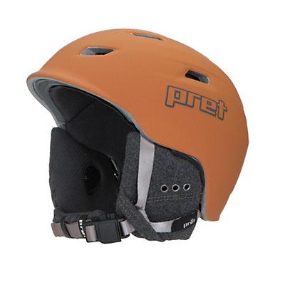 Pret Shaman Helmet 2017, Rubber Habanero, viewer