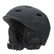 Pret Shaman Helmet 2017, Rubber Jet Black, medium