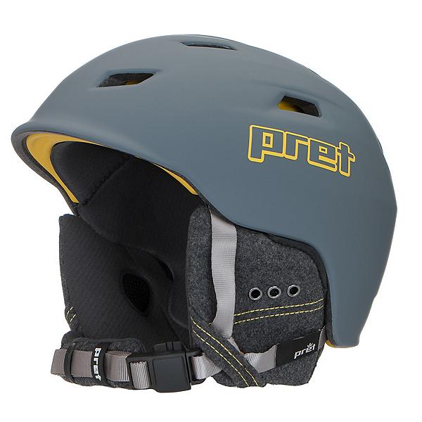Pret Shaman Helmet 2017, Rubber Rock Grey, 600