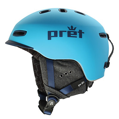 Pret Cynic Helmet, Rubber Arctic, viewer