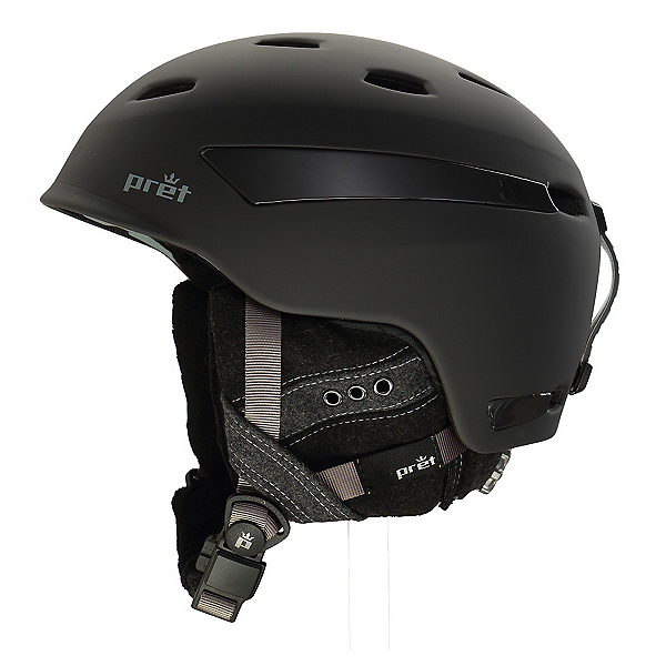 Pret Facet Womens Helmet 2017, Rubber Licorice, 600