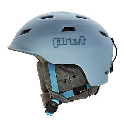 Pret Luxe Womens Helmet 2017, Rubber Powder, viewer