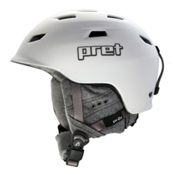 Pret Luxe Womens Helmet 2017, Rubber Pearl Chalk, medium