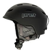Pret Luxe Womens Helmet 2017, Rubber Licorice, medium
