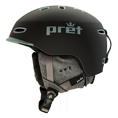 Pret Lyric Womens Helmet 2017, Rubber Licorice, viewer