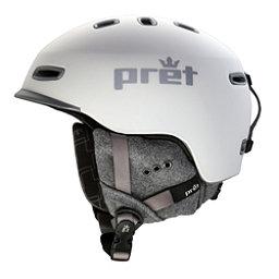 Pret Lyric Womens Helmet, Rubber Pearl Chalk, 256