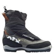 Fischer Off Track 3 BC NNN BC Cross Country Ski Boots 2017, Black-Silver, medium