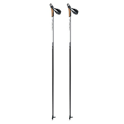 Fischer Cruiser My Style Womens Cross Country Ski Poles 2017, Black, viewer