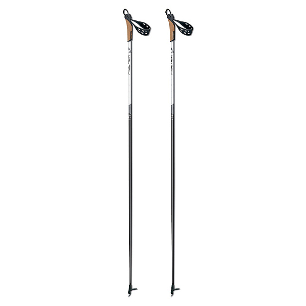 Fischer Cruiser My Style Womens Cross Country Ski Poles 2018, Black, 600