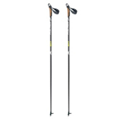 Fischer XC Superlite Cross Country Ski Poles 2017, Black, medium