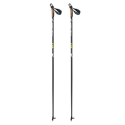 Fischer XC Superlite Cross Country Ski Poles 2017, Black, viewer