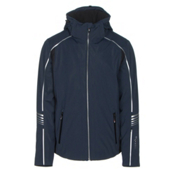 Rh+ Logo KR Mens Insulated Ski Jacket, Dark Blue, medium