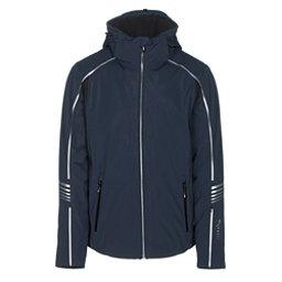 Rh+ Logo KR Mens Insulated Ski Jacket, Dark Blue, 256