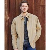 Purnell Corduroy Shirt Mens Jacket, Tan, medium