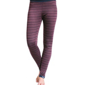 Purnell Fair Isle Base Layer Leggings, Maroon, medium