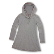 Purnell French Terry Tunic, Heather Grey, medium