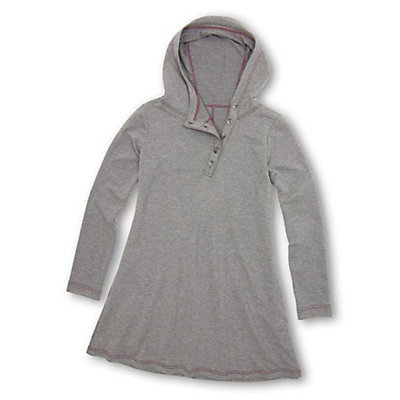 Purnell French Terry Tunic, Heather Grey, viewer