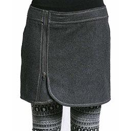 Purnell Wool Zip Womens Skirt, Grey, 256