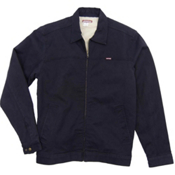 Purnell Canvas Sherpa Lined Mens Jacket, Navy, medium