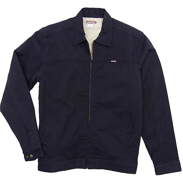 Purnell Canvas Sherpa Lined Mens Jacket, Navy, 600