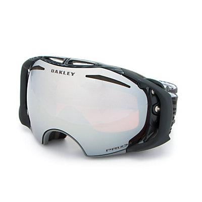 Oakley Airbrake Shaun White Prizm Goggles, Echelon Forged Iron-Prizm Blac + Bonus Lens, viewer