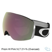 Oakley Flight Deck Prizm Goggles 2017, Matte Black-Prizm Hi Pink Irid, medium