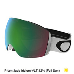 Oakley Flight Deck Goggles 2018, Matte White-Prizm Jade Iridium, 256