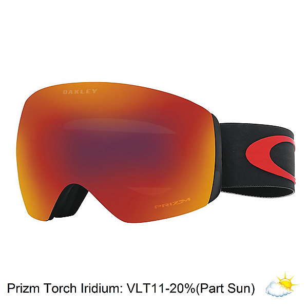 Oakley Flight Deck Prizm Seth Morrison Goggles 2017, Valley Of Death-Prizm Torch Ir, 600