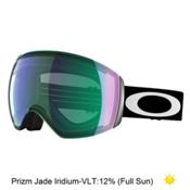 Oakley Flight Deck Prizm Asian Fit Goggles 2017, Matte Black-Prizm Jade Iridium, medium