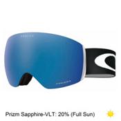 Oakley Flight Deck Prizm Asian Fit Goggles 2017, Matte Black-Prizm Sapphire, medium
