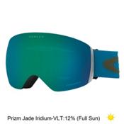 Oakley Flight Deck Prizm Asian Fit Goggles 2017, Legion Blue Green-Prizm Jade, medium