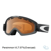 Oakley O2 XS Shaun White Kids Goggles 2017, Echelon Forged Iron-Persimmon, medium
