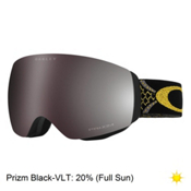 Oakley Flight Deck XM Jamie Anderson Womens Goggles 2017, Wanderlust Gold-Prizm Black Ir, medium
