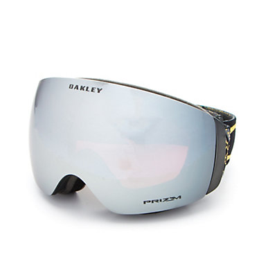 Oakley Flight Deck XM Jamie Anderson Womens Goggles 2017, Wanderlust Gold-Prizm Black Ir, viewer