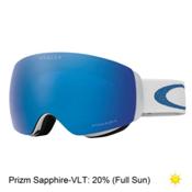 Oakley Flight Deck XM Lindsey Vonn Womens Goggles 2018, Glacier Blue-Prizm Sapphire, medium