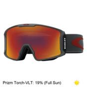 Oakley Line Miner Prizm Goggles 2017, Iron Brick-Prizm Torch Iridium, medium