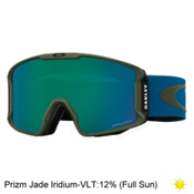 Oakley Line Miner Prizm Goggles 2017, Army Green Blue Shade-Prizm Ja, medium