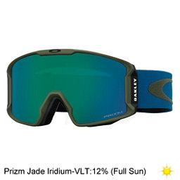 Oakley Line Miner Prizm Goggles 2017, Army Green Blue Shade-Prizm Ja, 256