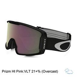 Oakley Line Miner Prizm Goggles 2018, Matte Black-Prizm Hi Pink Irid, 256