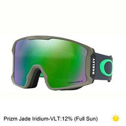 Oakley Line Miner Prizm Goggles 2018, Canteen Iron-Prizm Jade Iridium, 256