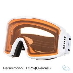 Oakley Line Miner Goggles, Matte White-Persimmon, 256