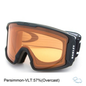 Oakley Line Miner Goggles 2017, Matte Black-Persimmon, medium