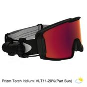 Oakley Line Miner Prizm Inferno Goggles 2018, Matte Black-Prizm Inferno Torc, medium