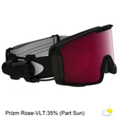 Oakley Line Miner Prizm Inferno Goggles 2018, Matte Black-Prizm Inferno Rose, medium