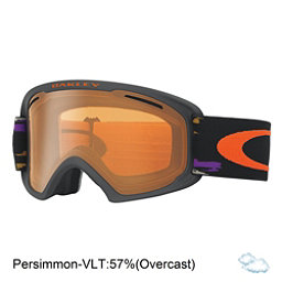 Oakley O2 XL Goggles, Distressed Paint Purple Iron-Persimmon, 256