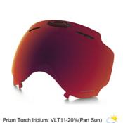Oakley Airwave 1.5 Goggle Replacement Lens 2018, Prizm Torch Iridium, medium